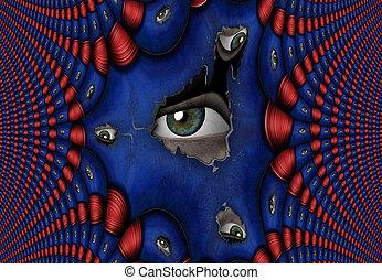 Peeping Eye