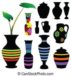 vase vector illustration