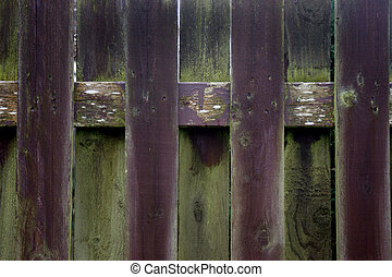 old garden fence posts weathered - weathered wooden fence...