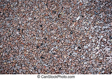 pink and grey granite stone chip - pink grey stone chipping...