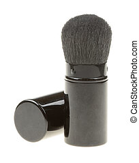 make-up brush isolated