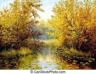 madeira, lago