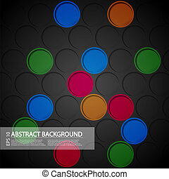 Vector creative abstract background. Eps 10