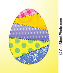 Fabric Easter egg