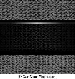 Structure plastic on corduroy backdrop, carbon fiber...