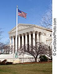 法廷, 最高, ワシントン, DC, アメリカ