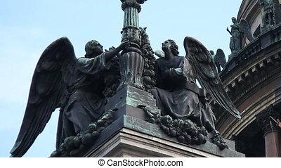 Saint Isaac Cathedral - Russia, St Petersburg, Saint Isaac...