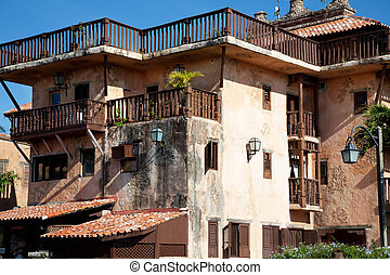 House in altos de chavon - Old fashioned house in altos de...