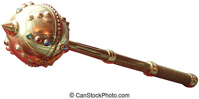 Bulava ? the ceremonial mace of Hetmans of Ukrainian...