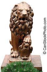 Gold Lion Park Sculpture 04
