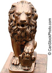 Gold Lion Park Sculpture 01