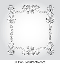 classic vintage victorian frame