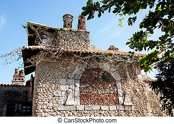 Stone house in altos de chavon in Casa de campos