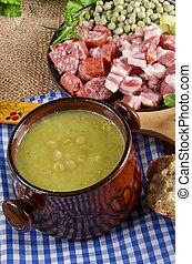 Pea soup - pea soup
