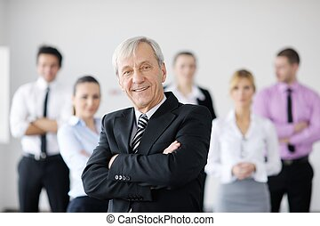 business people team - business people team at a meeting in...