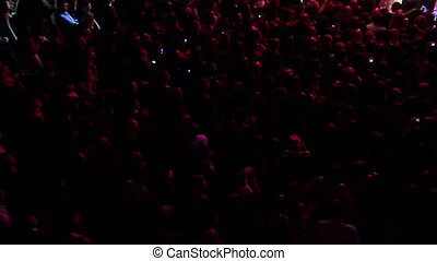 lot of people at concert of popular music