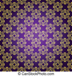 Purple & gold background