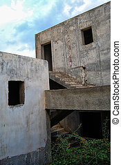 abandoned holiday resort 02 - An abandoned and unfinished...