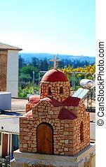Greek roadside shrine 03