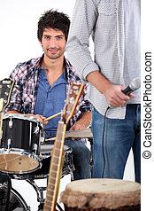 banda, práctica