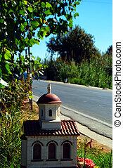 Greek roadside shrine 02