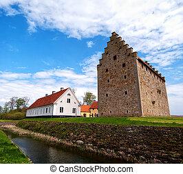 glimmingehus castle panorama 08