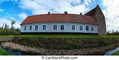 glimmingehus castle panorama 07