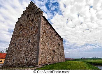 glimmingehus castle panorama 02