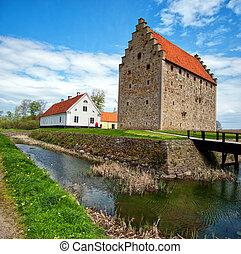 glimmingehus castle panorama 10
