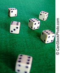 Gambling dice 03