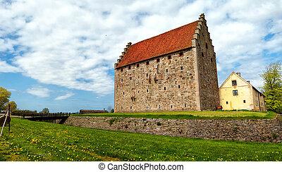 glimmingehus castle panorama 05