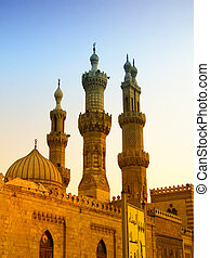 Local Cairo Mosque 05 - Small mosque in the centre of Cairo,...