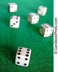 Gambling dice 02