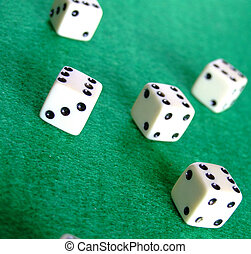 Gambling dice 01
