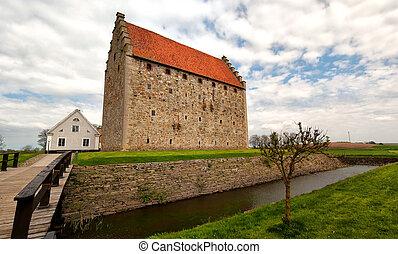 glimmingehus castle panorama 04