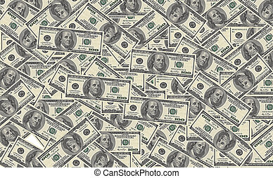 100 dollar bills background