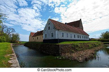 glimmingehus castle panorama 06