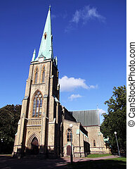Gothenburg church 01 - An image of a church in the swedish...