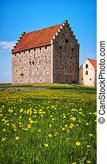 glimmingehus castle panorama 13
