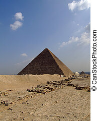 pyramids of giza 30 - one of the great pyramids of giza in...