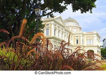 National Museum of Singapore and gardens - National Museum...
