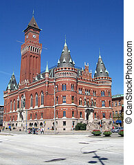 Helsingborg 89 - An image of the helsingborg town hall