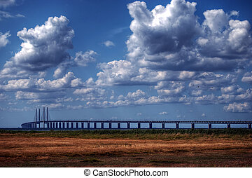 Oresundsbron HDR - A high dynamic range image of the...