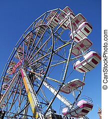 ferris wheel 04 - A large ferris wheel at the local...