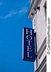 hotel sign ystad