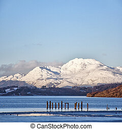 loch lomond 01 - A view of the majestic and impressive ben...