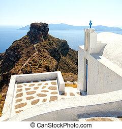 Skaros santorini - An image from Santorini of a typical...
