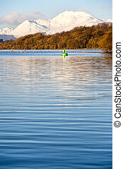 loch lomond portrait - A view of the majestic and impressive...