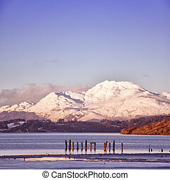 loch lomond 02 - A view of the majestic and impressive ben...