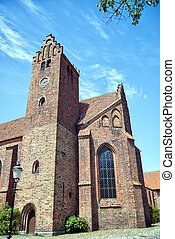 Ystad Monastery 02 - The Franciscan monastery situated in...